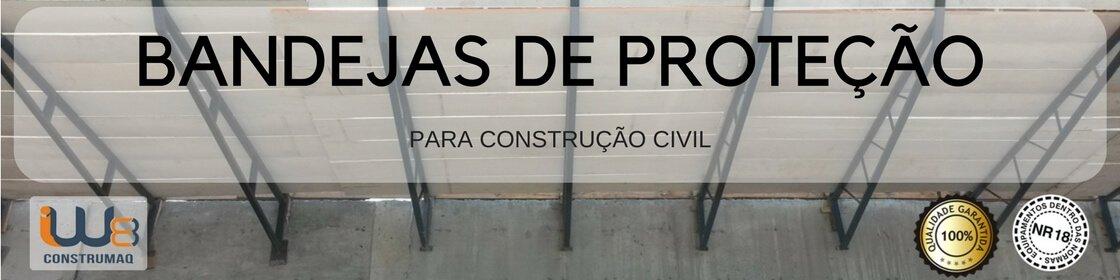 Bandeja de Obra Primária e Secundária para Obras da Construção Civil usadas como Plataformas de Proteção Coletiva